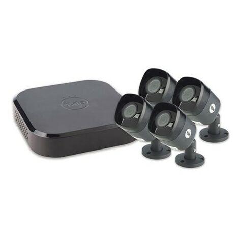 Sistema Vigilancia 384X338X280 Kit 4 Camaras Yale Smart Living Ne