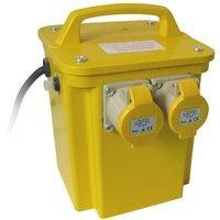 Site Transformer 110 Volt 3.3KVA Twin Outlet 16 Amp