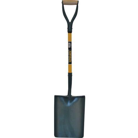 Sitesafe Solid Socket Fibreglass YD Taper Mouth Shovel