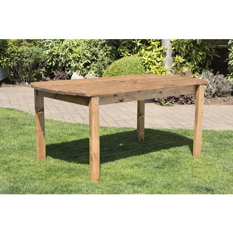 Six Seater Rectangular Table, fully assembled garden furniture