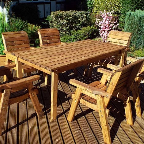 Six Seater Table Set H15