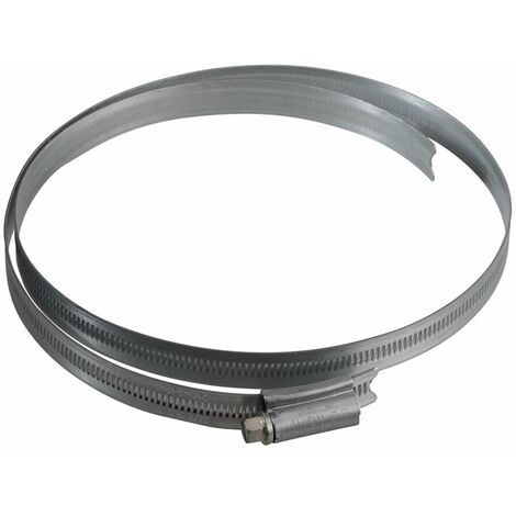 Size 9.1/2in Zinc Protected Hose Clip 210 - 242mm (8.1/4 - 9.1/2in) JUB95