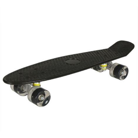 Skateboard Skateboard Pittore plastico 22 pollici Mini con accendino a Led Cruiser LAVENTE