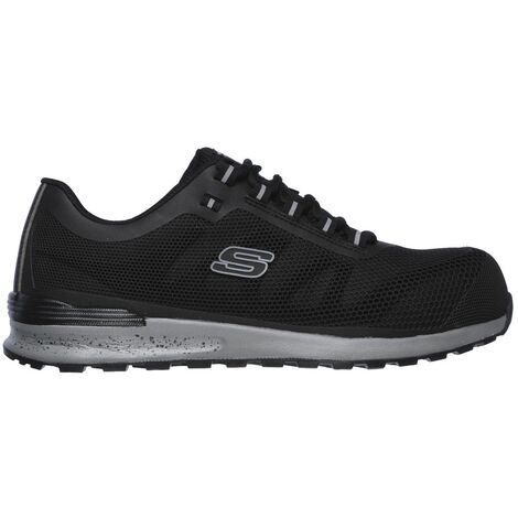Skechers Mens Bulklin Lace Up Safety Shoes