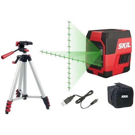SKIL MT1E 1911DA Laser Crossline (Green) 20 metros máxima visibilidad - carga USB