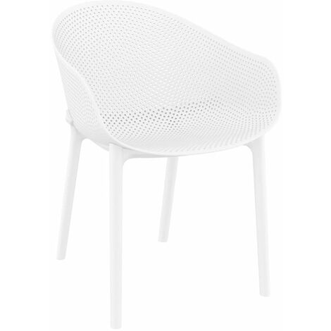 """main image of """"Skillet Armchair - White"""""""