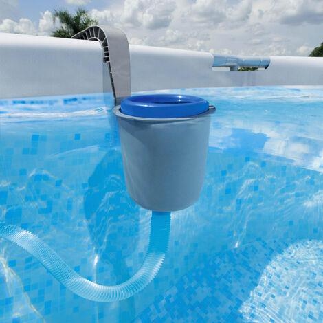 Skimmer de superficie Flowclear con gancho para piscinas sobre suelo