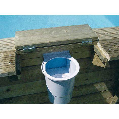 Skimmer pour piscine bois Ubbink