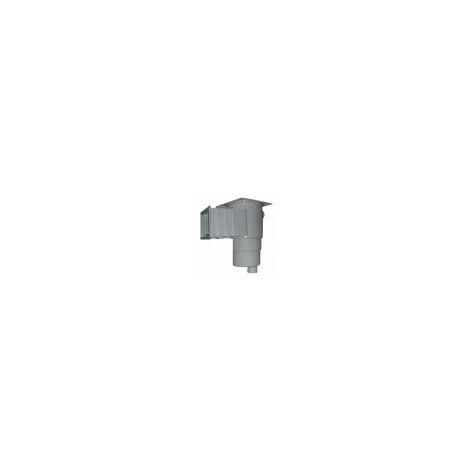 """Skimmer Standard de plástico UV. Tapa cuadrada. Rosca interna 1 1/2"""" encolar. Incluye skimmer y compuerta recogeinsectos"""
