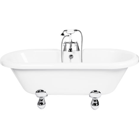 Skipton Freestanding Double Ended Bath with Modern Feet