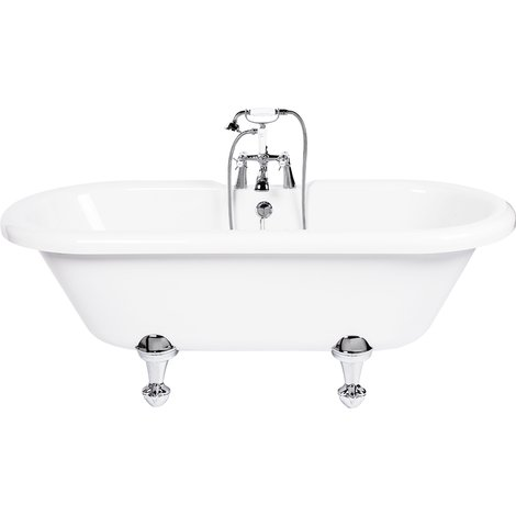 Skipton Freestanding Double Ended Bath with Traditional Feet