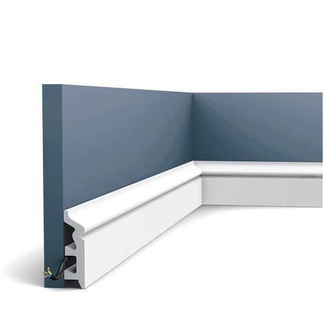 Skirting Panel Moulding Orac Decor SX122 AXXENT Cable protection impact resistant 2 m