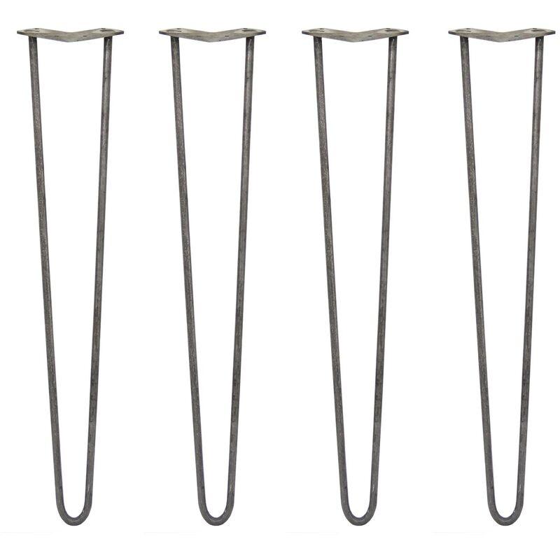 Skiski Legs 4 Pieds De Table En Epingle A Cheveux 71cm 2 Tiges