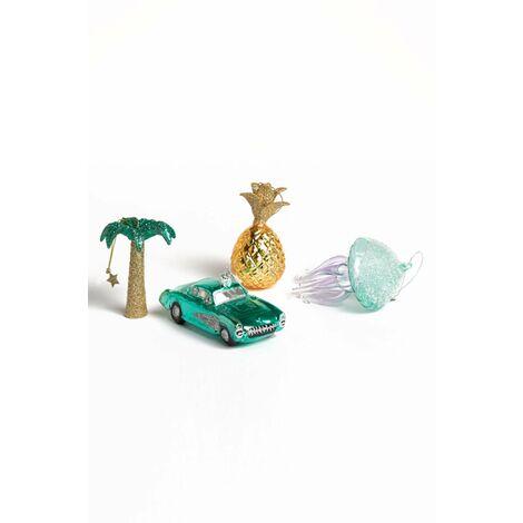 SKLUM Adornos de Navidad Tropik Cristal A