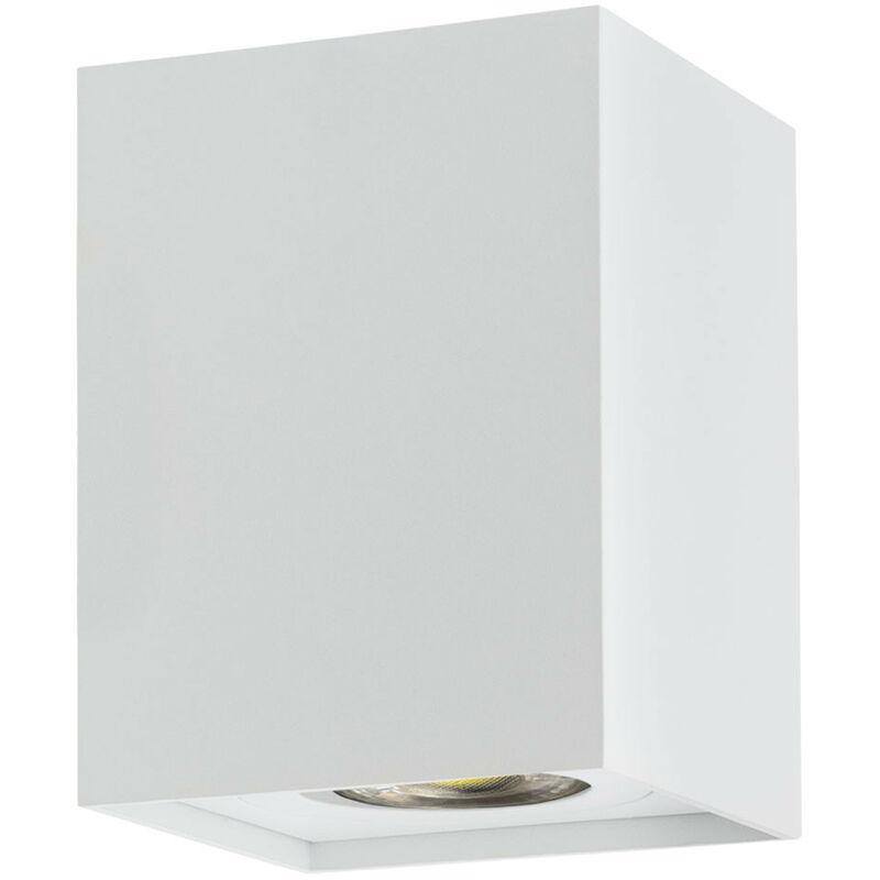 SKLUM Applique LED Quhb Bianco Alluminio