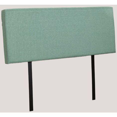 SKLUM Cabecero para Cama de 135 cm, 150 cm y 180 cm Tikal Poliéster Verde Menta