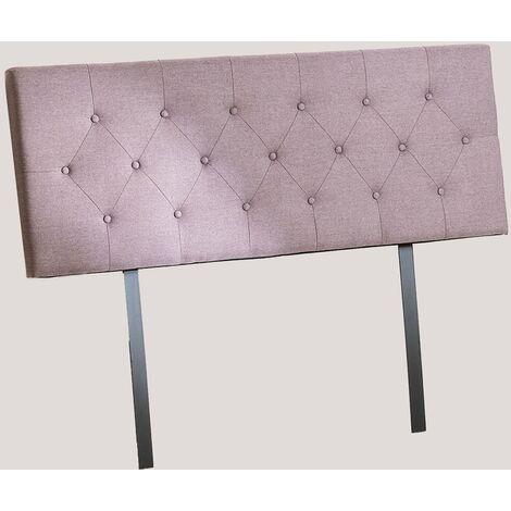 SKLUM Cabecero para Cama de 135 cm, 150 cm y 180 cm Tonie Poliéster Mousse Violeta