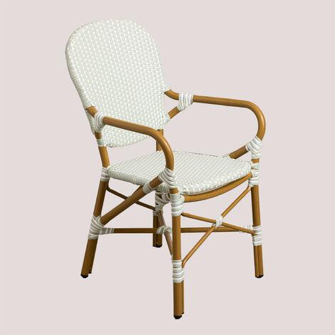 SKLUM Chaise de jardin en osier synthétique Alisa