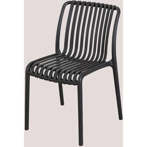 SKLUM Chaise de jardin Wendell Polypropylène - Céladon