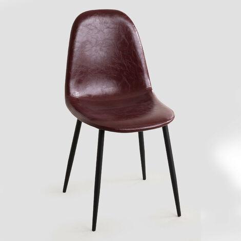 SKLUM Chaise en Simili Cuir Glamm