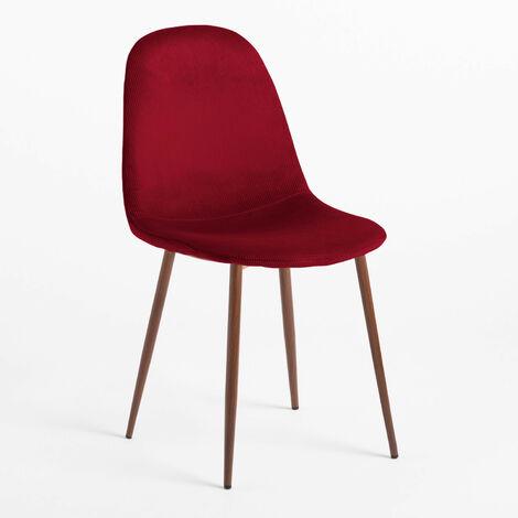 SKLUM Chaise en Velours Côtelé Glamm
