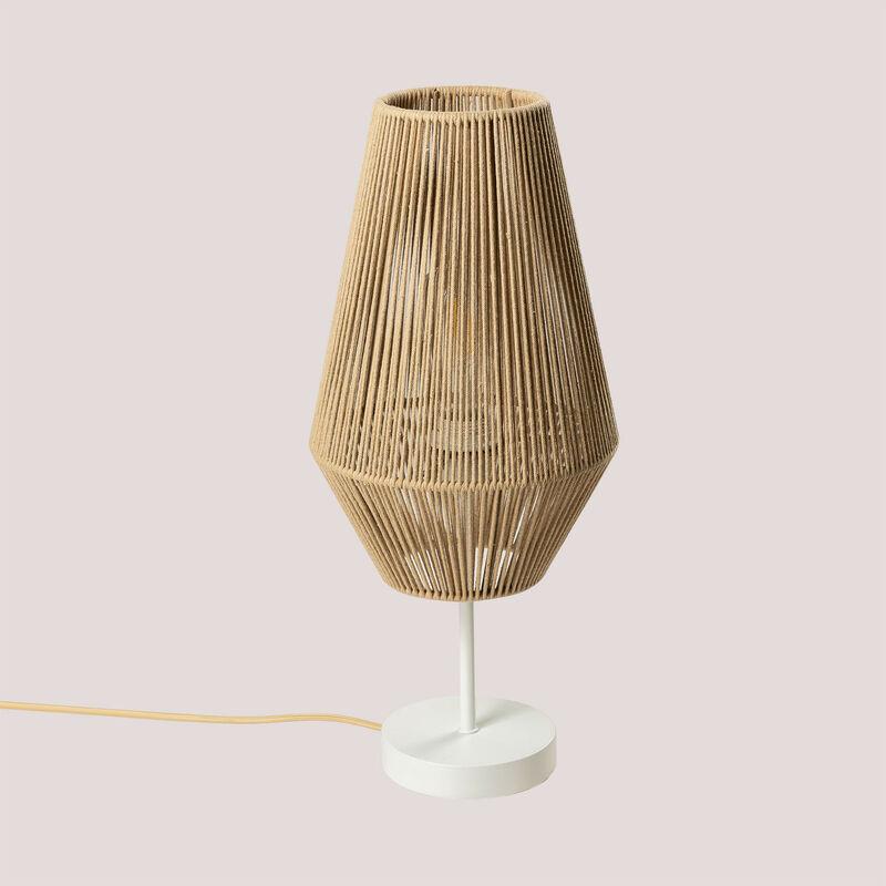 SKLUM Lampada da tavolo in corda di nylon Uillo NATURAL Nylon