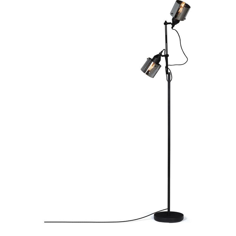 Lampada Krom Nero Alluminio / Vetro - Sklum