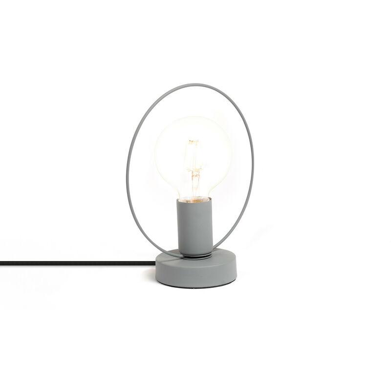 Lampada Kurl Grigio Acciaio - Sklum
