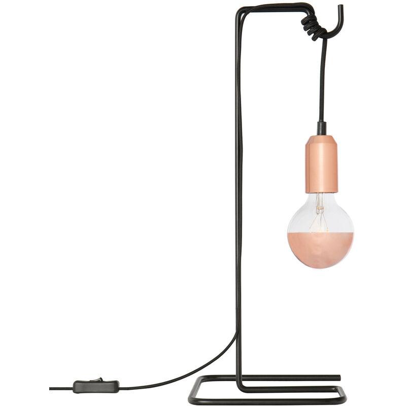 Lampada Loop Oro Rosa Lega di ferro - Sklum