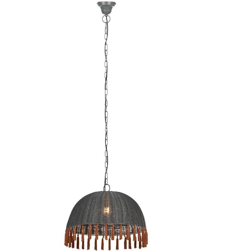SKLUM Lampada Orla Grigio Legno – Acciaio