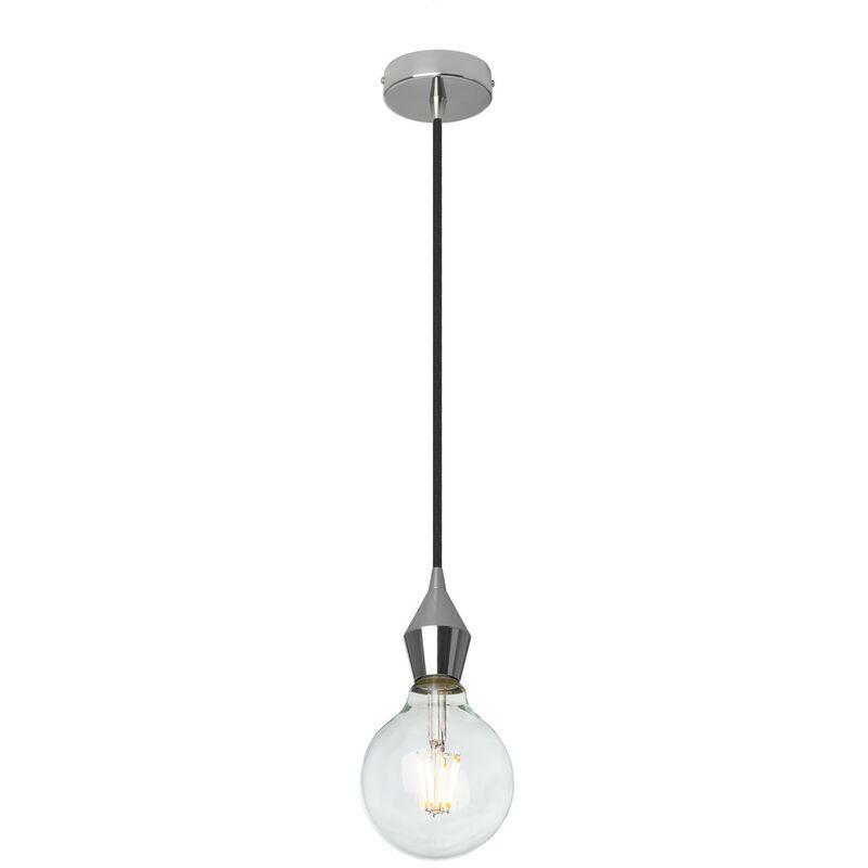SKLUM Lampada Rhomb Acciaio Cromato