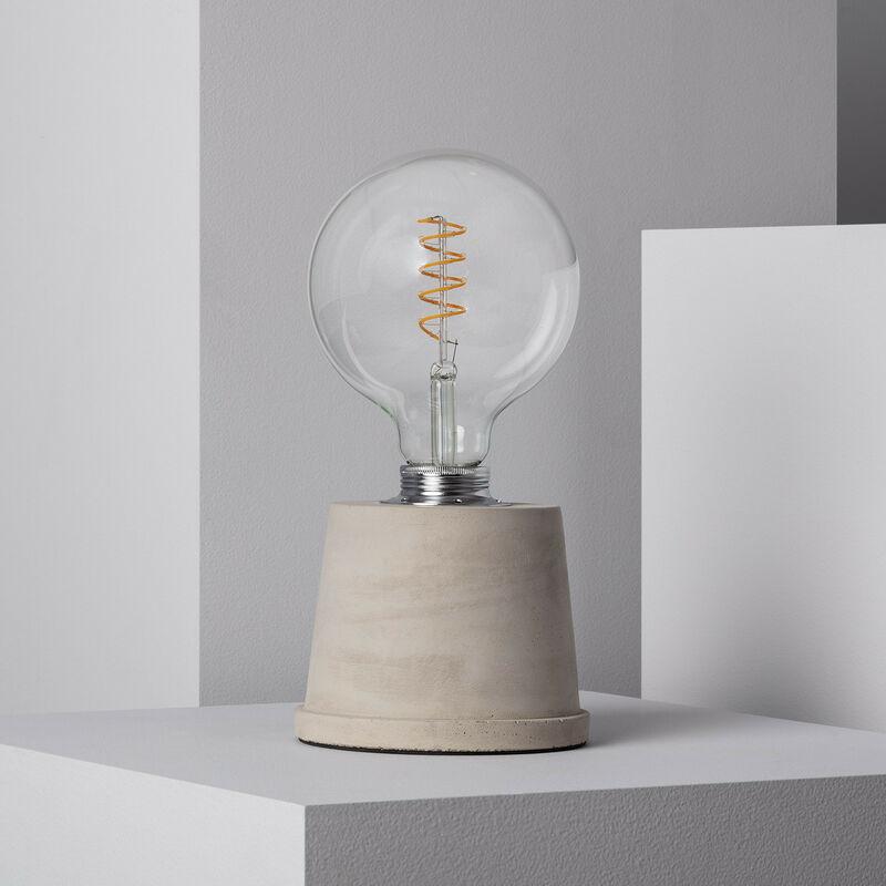 Ledkia - Lampada da Tavolo Ray Grigio Cemento