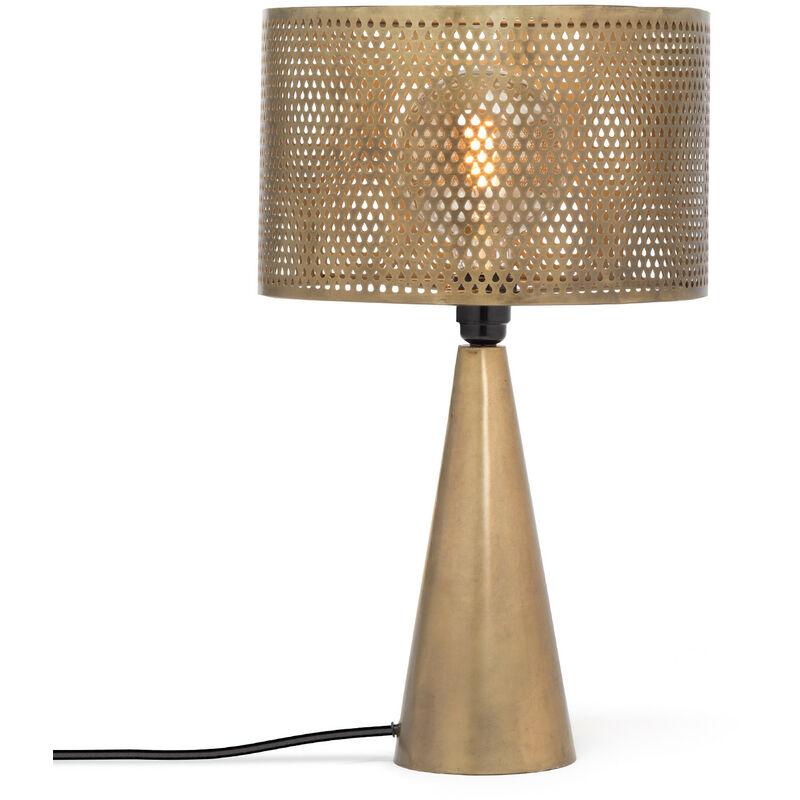 Lampada Taze Acciaio Oro vecchio - Sklum