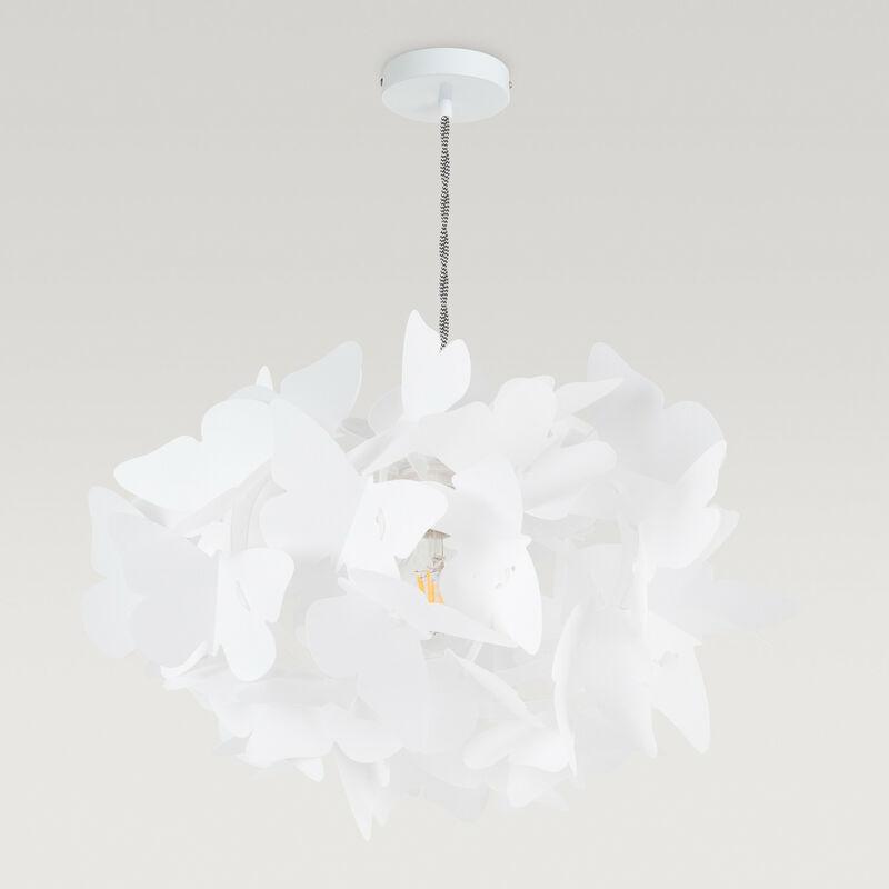 Lampada Yon Bianco Plastica - Sklum