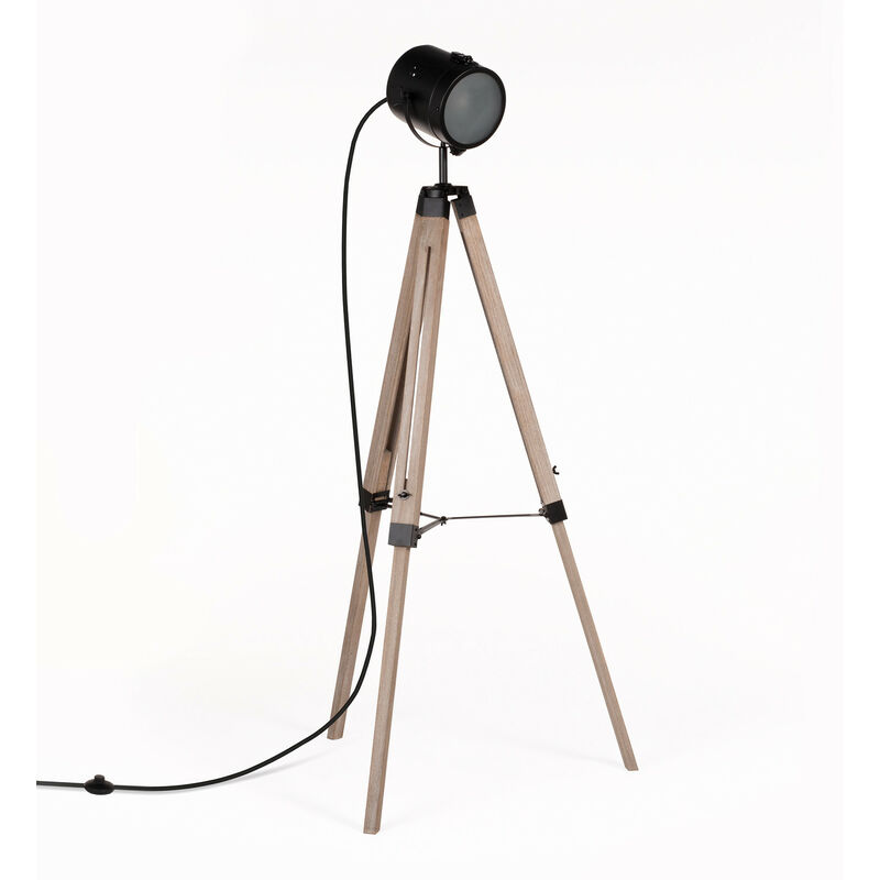 SKLUM Lampada Zousc Black&Natural Legno