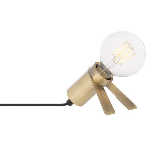SKLUM Lámpara de Mesa Metalizada Crawl