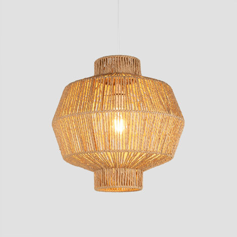 SKLUM Lámpara de Techo en Papel Trenzado Amaris Rugoso Papel trenzado Natural - Natural Rugoso