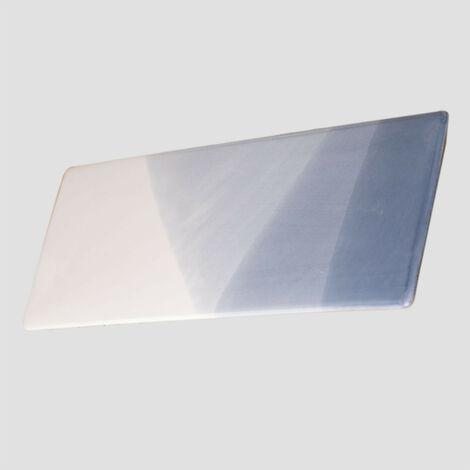 SKLUM Pack de 4 Platos Rectangulares (27,5x10 cm) Mar Porcelana Celeste - Azul Marino - Celeste - Azul Marino