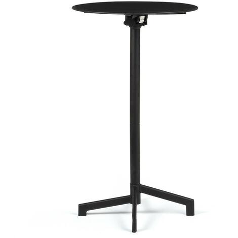 SKLUM Table de bar ronde Dely convertible en 2 hauteurs