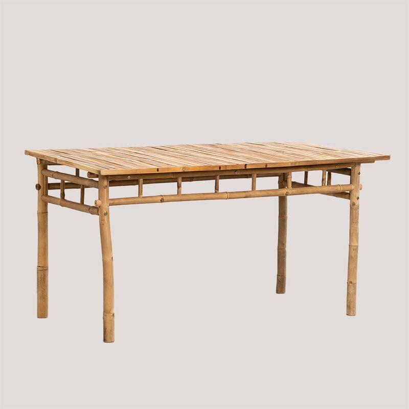 Table en bambou (150x80 cm) Marilin Bambou Bambou - Bambou Bambou - Sklum