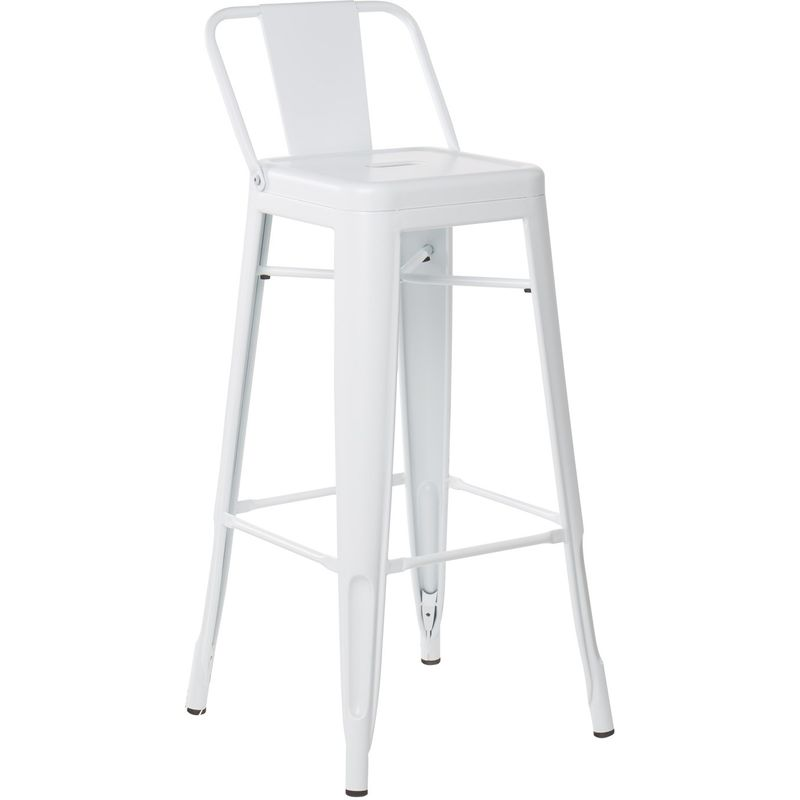 Acero Blanco Kit Closet taburetes