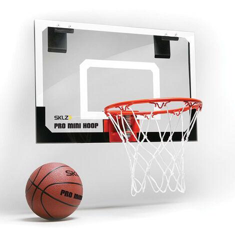SKLZ Pro Mini Basketball Hoop with Backboard and Basketball - Multicolour