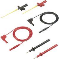 SKS Hirschmann MMS 2030 Sicherheits-Messleitungs-Set [Lamellenstecker 4mm - Lamellenstecker 4 mm] 1m X40531