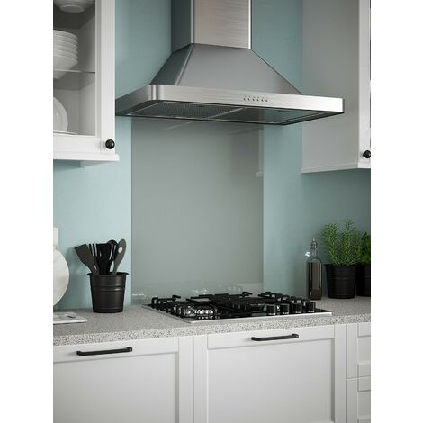 Slate Grey Glass Kitchen Splashbacks - different dimensions available