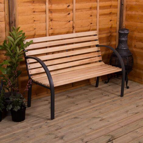 Slatted Garden Bench