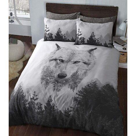 Sleepdown - Parure de lit ?King Size? en Coton, Multi-pièces, Coton Polyester, Multicolore, King