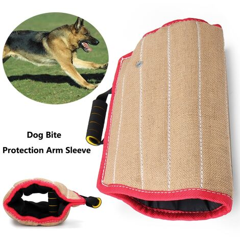 Sleeve sustainable jute dog bite arms for the military police protection against chewing Guard training supplies Protection Mohoo