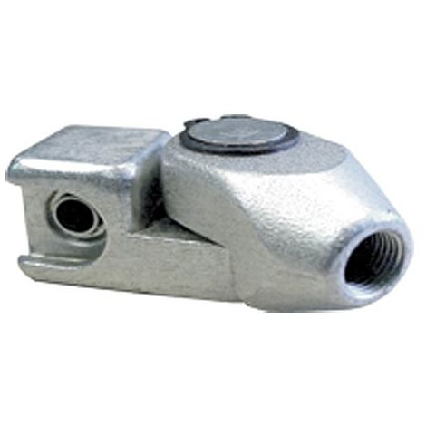 Slide On Grease Gun Connector With Swivel End Hex 1/8 BSP