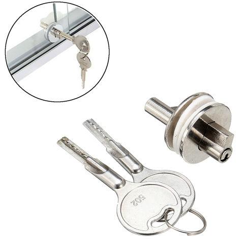 Sliding Glass Door Showcase Zinc Alloy Showcase Reptile Alloy Lock Vivarium With 2 Keys
