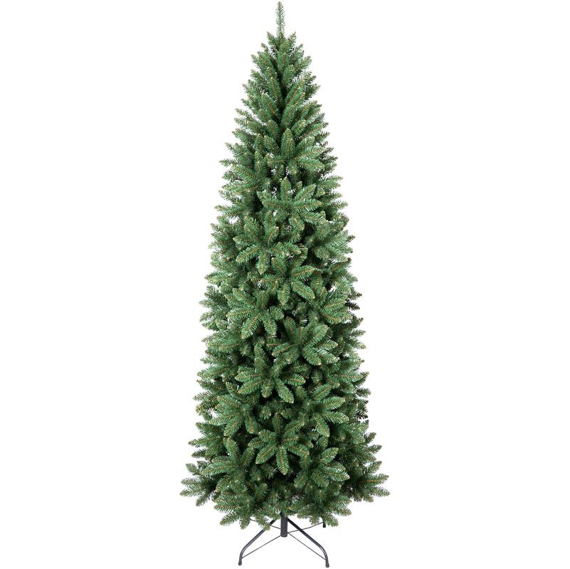 Albero Di Natale 240 Cm.Slim Albero Di Natale 240cm Molto Folto Foltissimo Realistico Natalizio Vail Slim